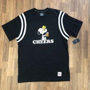 🆕🔥Rare HUF x Peanuts Snoopy Heavy Jersey T-Shirt